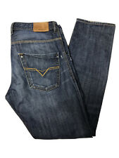 DIESEL KROOLEY REGULAR SLIM JEANS ZIP FLY W32 L32 NEW