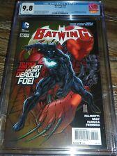 Batwing #20 CGC 9.8 DC Comics 1st App Luke Fox as Batwing From Batman