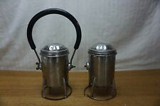 Railroad Lantern Conductor & Brakeman Lantern Light Set of Two ***NOTE