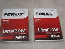 Lot of (2) Pentius Automotive Parts Air Filters PAB6479 filter car engine auto