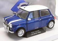 Voitures, camions et fourgons miniatures bleus Mini avec offre groupée personnalisée