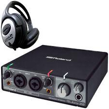 Roland Rubix22 USB Audio Interface+Headphones