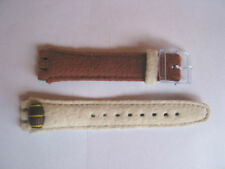SWATCH+GENT++AGN152 BARRY++Leder/leather+17mm Band+NEU/NEW