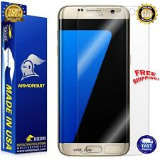 Samsung Galaxy S7 Edge Screen Protector Clear Resistant Ultra HD Case Coverage