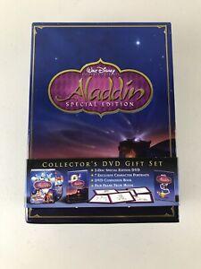 Walt Disney Aladdin Special Edition Collector's DVD Gift Box Set Dvd, Book