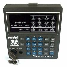 TEXAS INSTRUMENTS MODEL 305 HANDHELD PROGRAMMER WITH KEY 305-PRG
