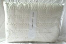 New Bloomingdale'S Oake Jersey Full/Queen Quilted Coverlet Quilt Ivory, $285