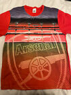 Mens Arsenal Pyjama Shirt Top Medium