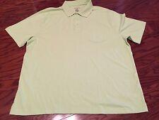 NWoT ~SADDLEBRED~ Men's Light Green Short Sleeve Casual Polo/Golf Shirt Size XL