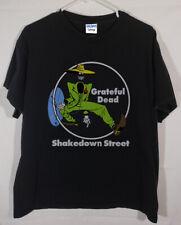 Vintage 1978 Grateful Dead Shakedown Street Shirt, Reprint