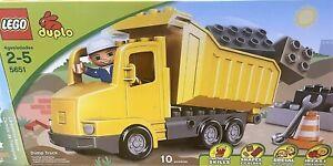 LEGO Duplo - 5651 - LEGOVille - Dump Truck Set
