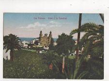 Las Palmas Vista a la Catedral Spain Vintage Postcard 675b