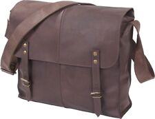 Brown Leather Medic Shoulder Bag