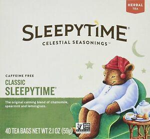 Sleepytime Tea by Celestial Seasonings, 40 1 Box