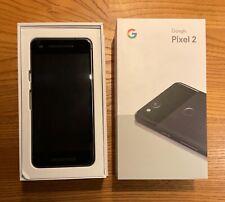 GOOGLE PIXEL 2 64 GB NERO JUST BLACK + CARICABATTERIE + LIBRETTI. SIM FREE