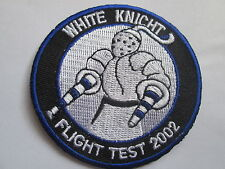 White Knight Flight Test 2002 Good Quality - Embroidered Iron On Patch P073