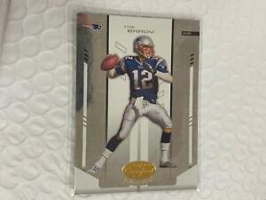 Tom Brady 2004 Leaf Certified Card New England Patriots #71 C19