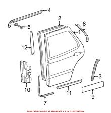 For Mercedes Genuine Door Seal Right 1637301478