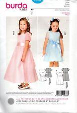 Burda Sewing Pattern Babies Ddresss Super Easy 6m to 3 9348