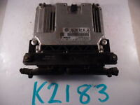 2011 11 VOLKSWAGEN TIGUAN COMPUTER BRAIN ENGINE CONTROL ECU ECM EBX MODULE K2183