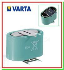 batteria pila bottone cella VARTA 3/V150H 55615 ricaricabile NiMH 3,6v saldare