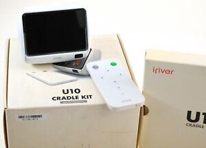 iRiver U10 Schwarz(1GB) Top Digitaler Medienplayer mit Cradle Super Rarität