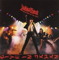 "JUDAS PRIEST ""UNLEASHED IN THE EAST"" CD REMASTERED NEU!"