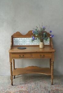 Antique Pine Sideboard Vintage Washstand - Delivery Available