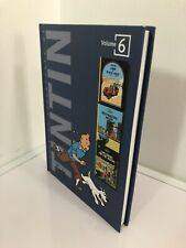 The Adventures of Tintin: Collector's Gift Set (Blue) by Herge BOOK 6 ONLY!!