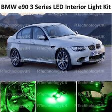 GREEN PREMIUM BMW E90 3 Series 04-11 FULL LED Light UPGRADE Interior KIT