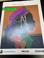 Viewers Guide. The Africans Weta 26 1985