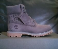 "Timberland Women's Embossed 6 inch"" Double Sole Premium Waterproof Boots SIZE 10"