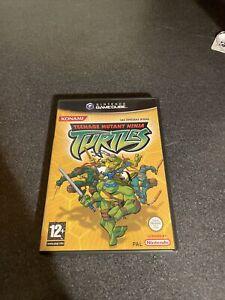 Teenage Mutant Ninja Turtles Nintendo Gamecube Complete Good