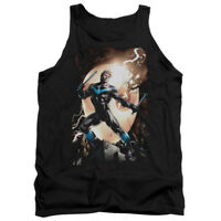 BATMAN NIGHTWING AGAINST Licensed Adult Men's Graphic Tank Top Sleeveless SM-2XL