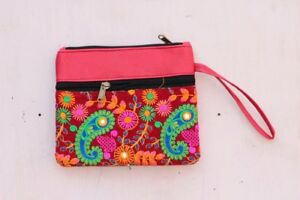 Handmade Embroidery Ladies Purse Bag Indian Vintage Traditional Bag PW-31