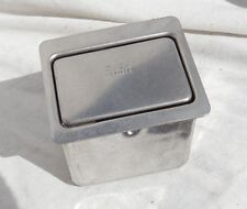 Airline Passenger Seat All Metal Ashtray, New Old Stock