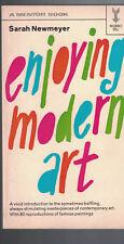 Enjoying Modern Art by Sarah Newmyer (Mentor Book)
