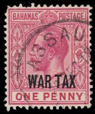 "BAHAMAS MR7 (SG97) - King George V ""War Tax"" (pa54172)"