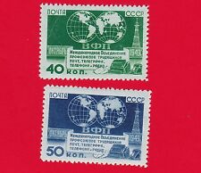 1950 Russia USSR Communication workers conf MNH** Z 1424-5 Sc 1447-8 Mi 1459-0