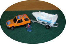 MAISTO - BEACH BUGGY with BOAT ON TRAILER - S TRAIN VEHICLE