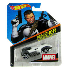 Hot Wheels Marvel Character Car 1:64 Scale Die-Cast Vehicle: #32 PUNISHER