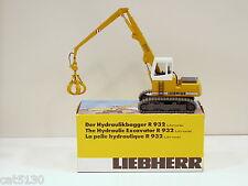 Liebherr 932 Excavator w/ Clam Bucket - 1/50 - Conrad #2835 - MIB