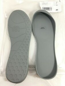 NEW Mahabis Classic Slipper Shoe Sole Larvik Gray Sz 40 US W 10