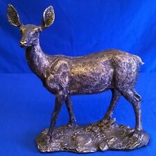 BRONZE EFFECT DEER MODEL OR FIGURE - JULIANA WILDLIFE ANIMALS COLLECTION 58426
