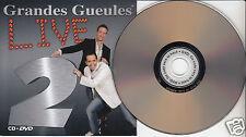 GRANDES GUEULES Live Volume 2 CD+DVD Limited Edition Édition Limitée