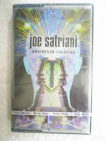 JOE SATRIANI ENGINES OF CREATION CASSETTE INDIA NEW