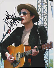 JAKOB DYLAN The Wallflowers One Headlight SIGNED 8x10 Glossy Photo