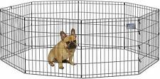 Large Dog Pet Playpen Folding Fence Indoor Outdoor Exercise Pen Play Yard Cage
