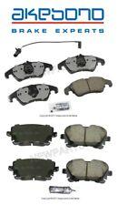 For Audi S4 S5 10-16 Front & Rear Disc Brake Pad Set Akebono Euro