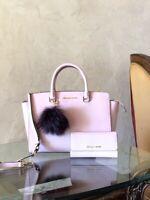 NWT Michael Kors Large Selma Leather handbag Satchel/Wallet options Blossom